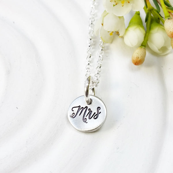 Mrs. Necklace | Bride to Be Gift