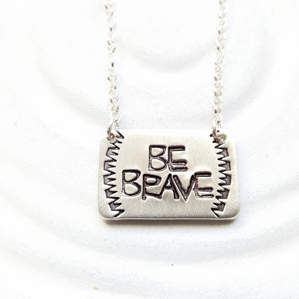 Be Brave | Navajo Style Necklace