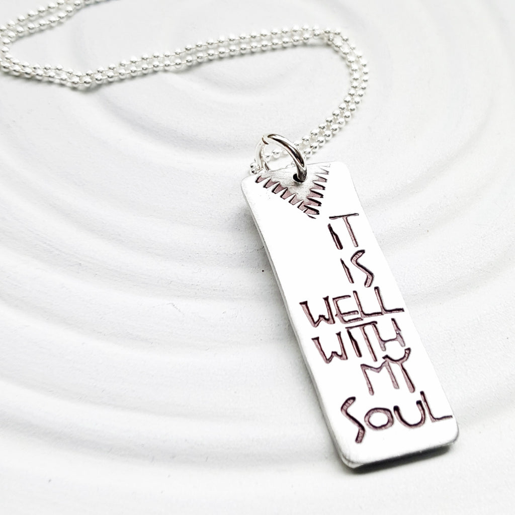 It Is Well With My Soul | Navajo Jewelry