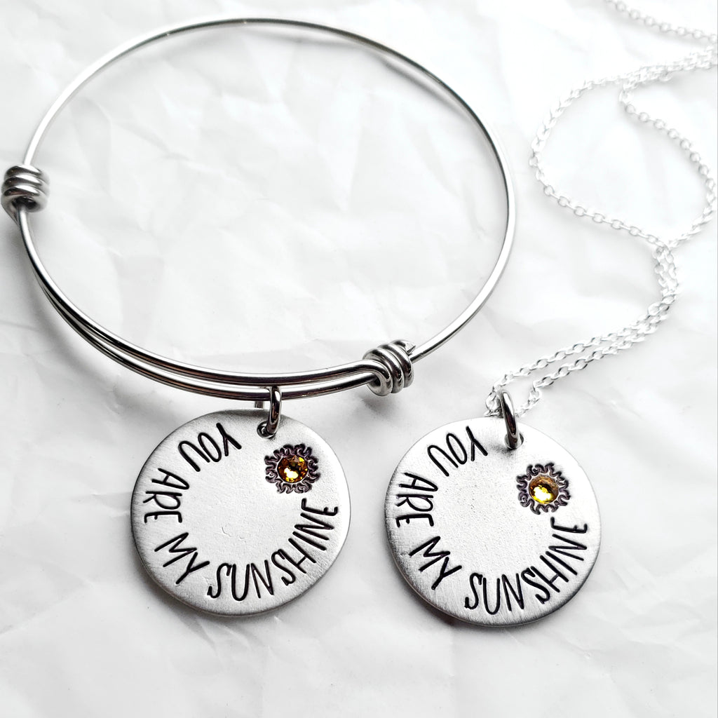 You Are My Sunshine - Necklace or Bangle