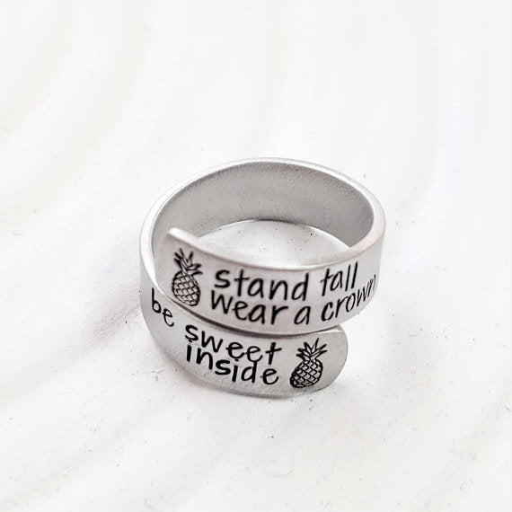 Stand Tall Wear A Crown | Pineapple Ring