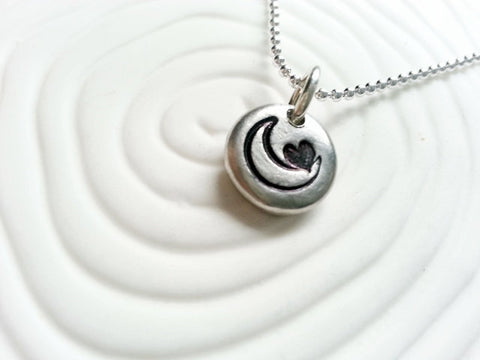 Moon Necklace | I Love You To The Moon & Back