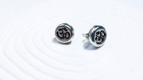 Ohm Stud Earrings | Pebble Earrings