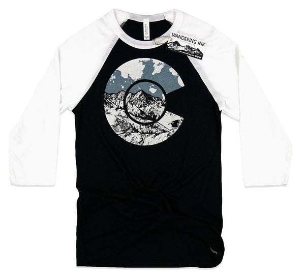 Colorado 3/4 Sleeve Baseball Tee