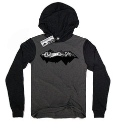 Range Hoodie Tee, Men's Long Sleeved Tees - Wandering Ink