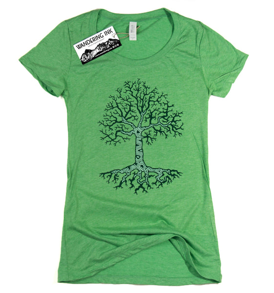 Growth Tee - Green Triblend