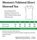 Women's Range Tee - True Royal Triblend