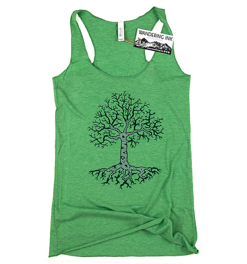 Growth Tank Top, Women's Shirts - Wandering Ink