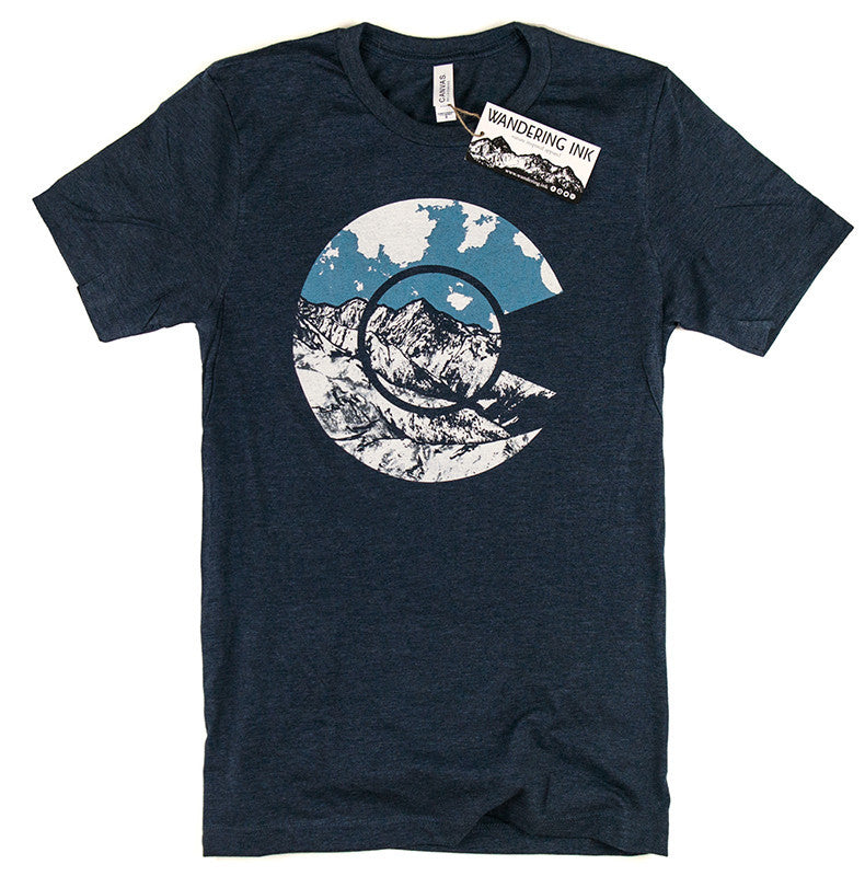 Colorado Tee - Heather Navy
