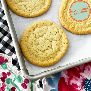 Bake at Home Lemon Sugar Cookies Cookies, 2 Pack