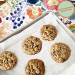 Bake at Home Mini Oatmeal Cherry Cookies, 3 Pack