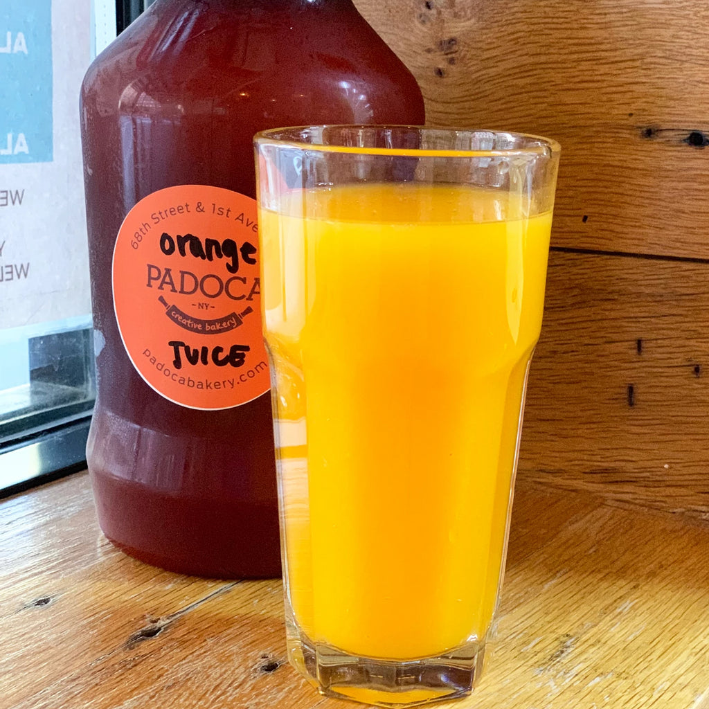 Orange Juice Growler