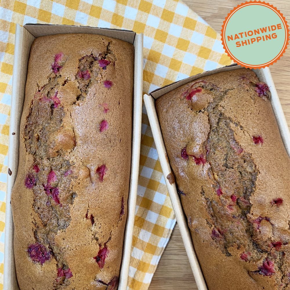 Pumpkin Cranberry Bread, 2 Loaves