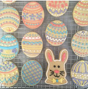 Easter Sugar Cookies, Box of 12