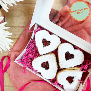 Load image into Gallery viewer, Linzer Heart Cookies
