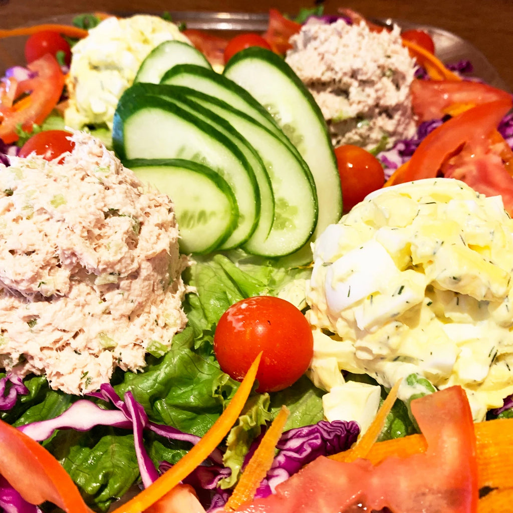 Tuna & Egg Salad Platter