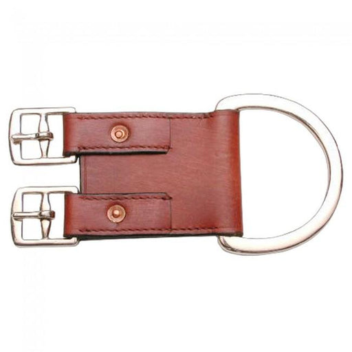2-Buckle Leather Western Girth Converter