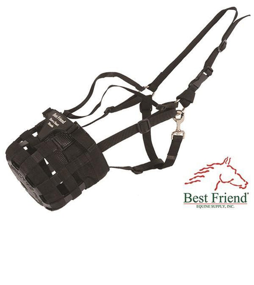 Best Friend Have-A-Heart Grazing Muzzle, Horse Muzzle - Warmblood Tack Store