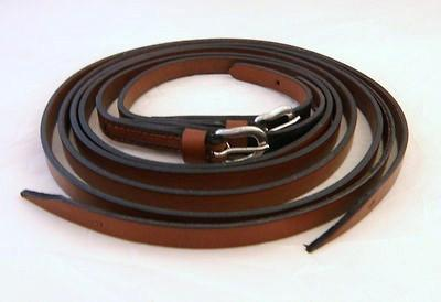 Bitless Bridle Western Leather Reins, Reins - Warmblood Tack Store