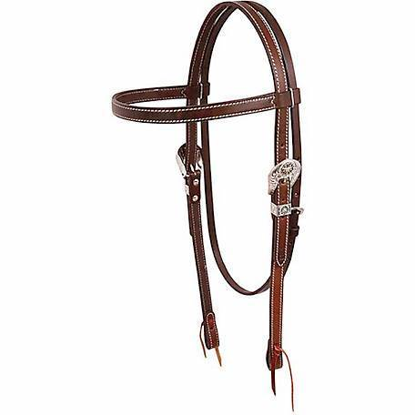 Cashel Draft Leather Western Headstall