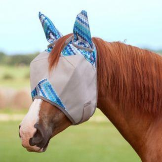 Patterned Cashel Crusader Fly Mask - Limited Editions!