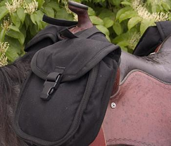 Small Horn Saddle Bag, Saddle Bag - Warmblood Tack Store
