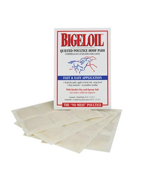 "Bigeloil Quilted Poultice Hoof Pads - ""NO MESS POULTICE"", Hoof Care - Warmblood Tack Store"