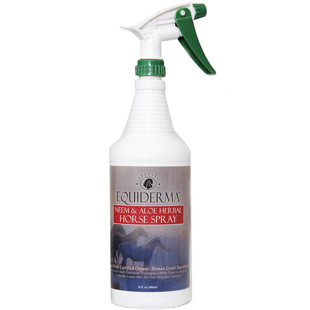Equiderma Neem & Aloe Herbal Natural Fly Spray 32 oz
