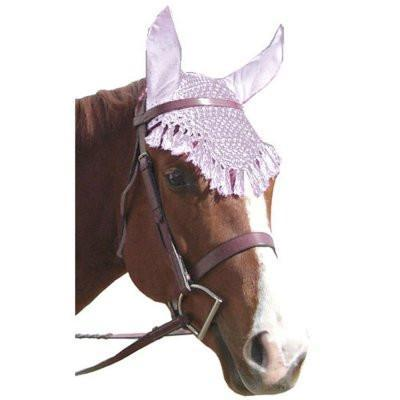 Fancy Crochet Fly Veil - Warmblood Size!, Fly Protection - Warmblood Tack Store