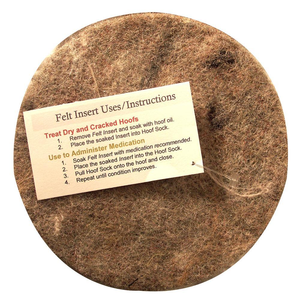 Hoof Sock Replacement Felt Pad