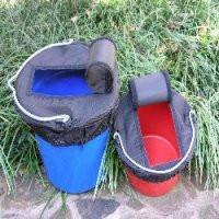 "Bucket ""Easy Access"" Top - 8qt. or 20qt. size, Stable - Warmblood Tack Store"