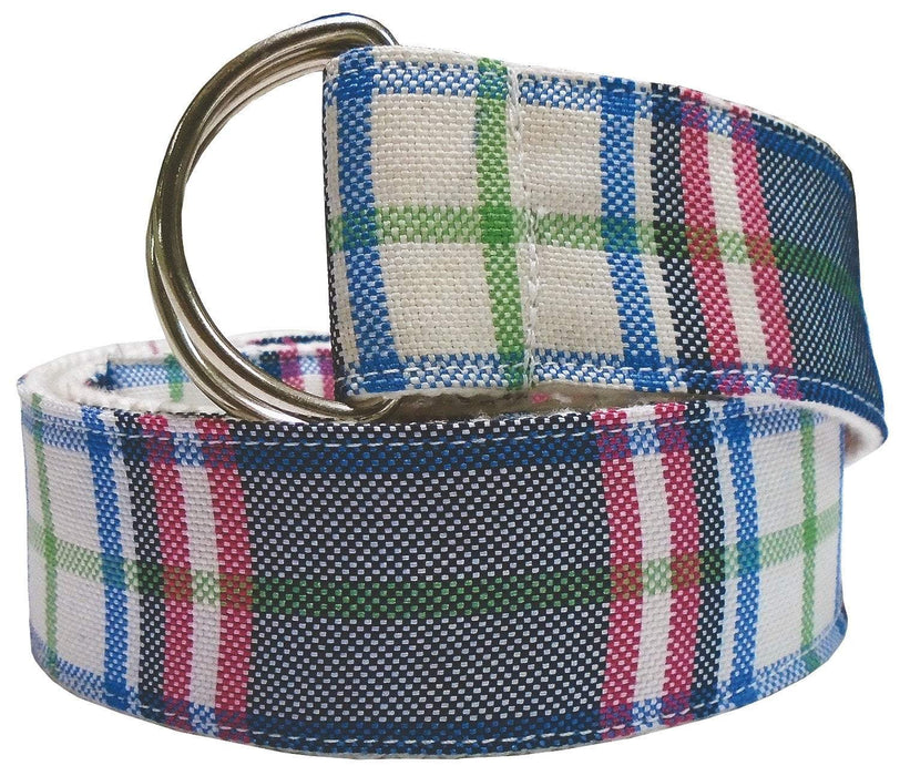 Equine Couture Amber Plaid Belt, Belts - Warmblood Tack Store