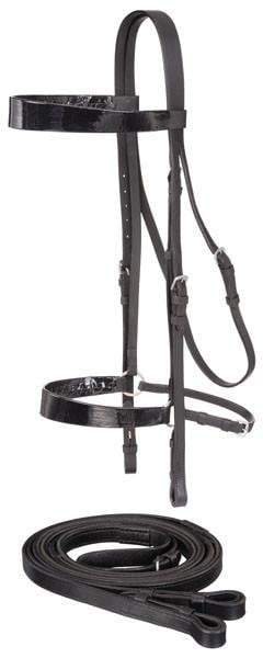 Draft Horse Saddle Seat Bridle, Bridle - Warmblood Tack Store