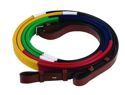 Training Reins - Rainbow Colors