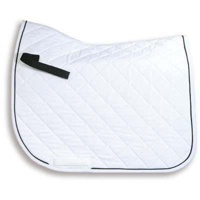Personalised Embroidered High Withered Dressage Saddle Cloth Full Size 3 Colours