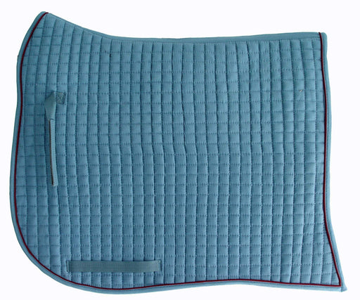 PRI Swallowtail Quilted Cotton Equu-Felt Dressage Show Pad