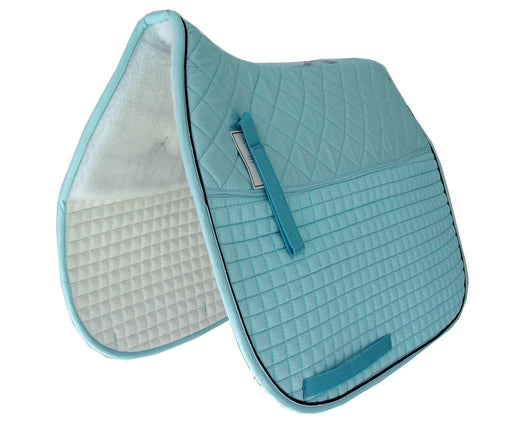 Customizable Double Back Padded Dressage Pad