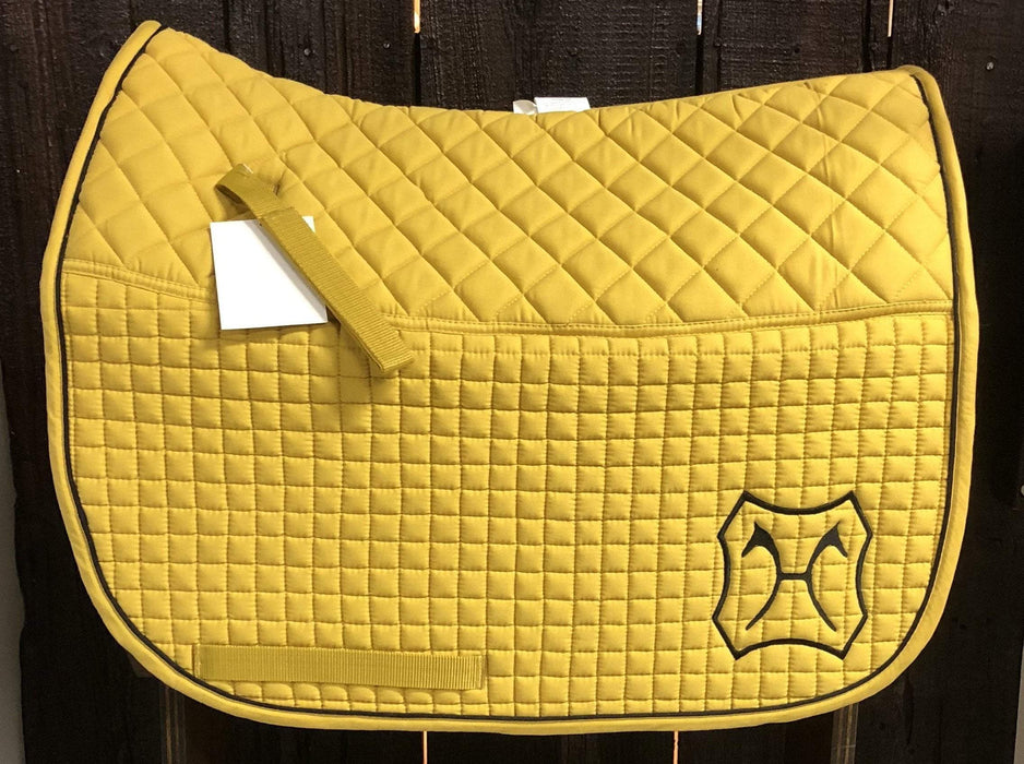 CUSTOMIZABLE!! Double Back Padded Dressage Pad - Breed Logo Available