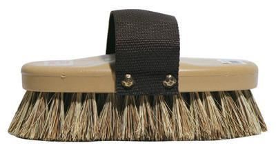 Brown Union Fiber Brush, Grooming Supplies - Warmblood Tack Store