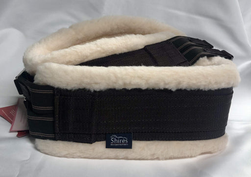 Shires Equestrian Fleece Lined Web Girth
