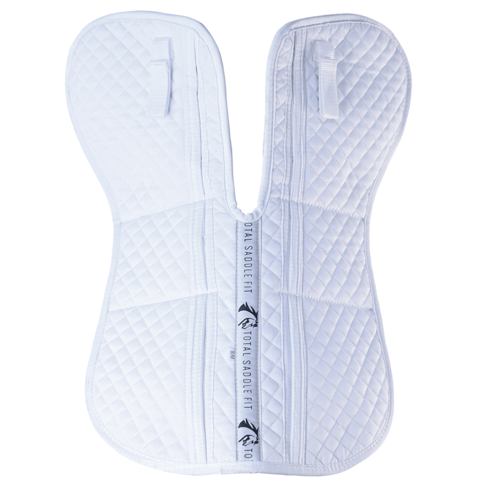 Six Point Wither Freedom Cotton Half Pad by Total Saddle Fit