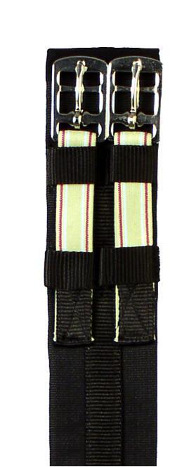 Padded Cotton Elastic Dressage Girth, Girth/Cinch - Warmblood Tack Store