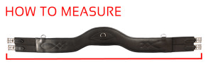Synthetic Shoulder Relief AP or Jumping Girth by Total Saddle Fit