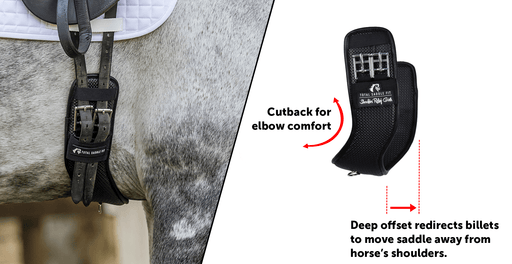 Synthetic Shoulder Relief Dressage Girth by Total Saddle Fit