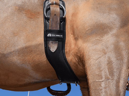 Synthetic Shoulder Relief Western Cinch by Total Saddle Fit