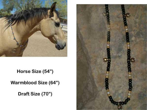 "Rhythm Beads ""Black Gold"", Riding Accessory - Warmblood Tack Store"