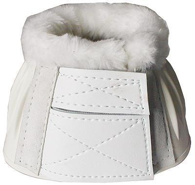 Tuffrider Fleece Top Bell Boots, Leg Protection - Warmblood Tack Store