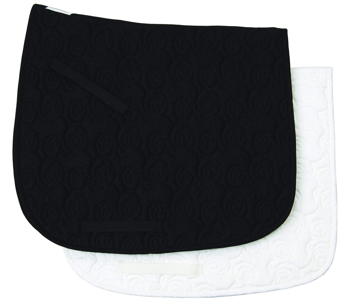 Tuffrider Rosette Dressage Pad, Saddle Pad - Warmblood Tack Store