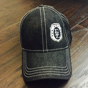 Ezra Zion Black Denim Trucker