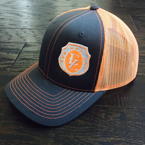 Ezra Zion Neon Orange Trucker